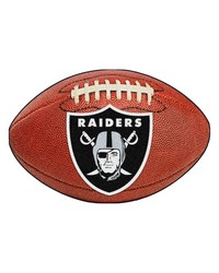Oakland Raiders Football Rug by