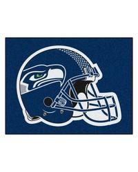 NFL Seattle Seahawks AllStar Mat 34x45 by