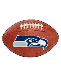 Seattle Seahawks Football Rug by