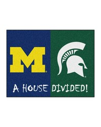 Michigan Michigan State House Divided Rugs 34x45 by