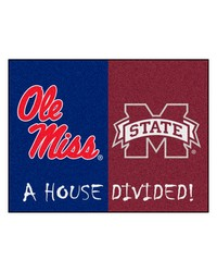 Mississippi Mississippi State House Divided Rugs 34x45 by