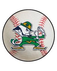 Notre Dame Baseball Mat 26 diameter  by