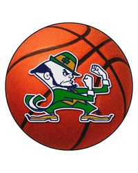 Notre Dame Fighting Irish Basketball Rug by