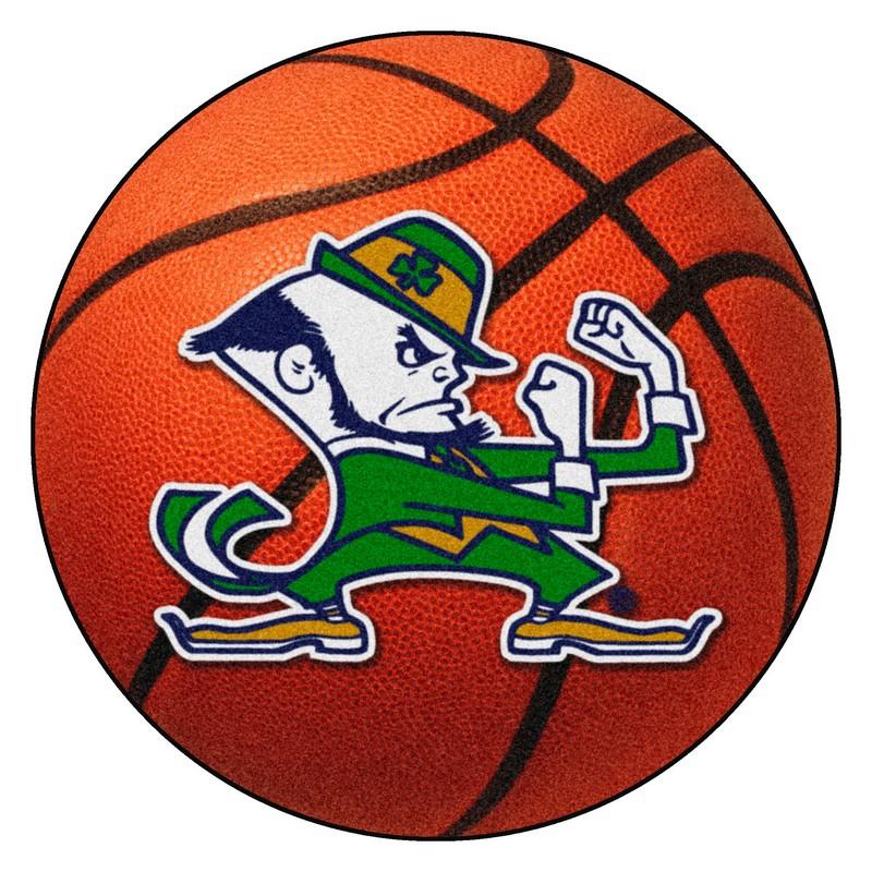 Large Basketball Area Rug: Notre Dame Fighting Irish Basketball Rug
