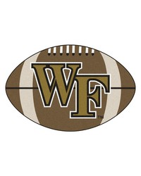 Wake Forest Football Rug 22x35 by