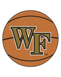 Wake Forest Basketball Mat 26 diameter  by