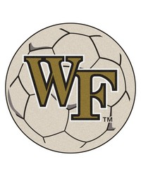 Wake Forest Soccer Ball  by