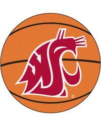 Washington State Basketball Mat 26 diameter  by