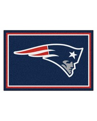 NFL New England Patriots Rug 5x8 60x92 by