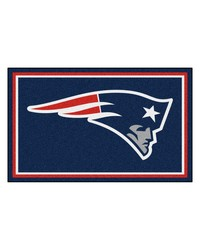NFL New England Patriots Rug 4x6 46x72 by