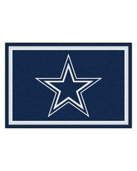NFL Dallas Cowboys Rug 5x8 60x92 by