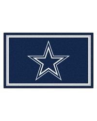 NFL Dallas Cowboys Rug 4x6 46x72 by