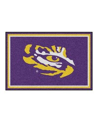 Louisiana State Rug 5x8 60x92 by
