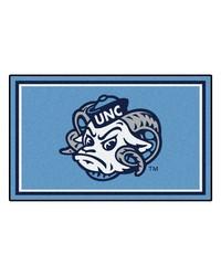 UNC Chapel Hill Rug 4x6 46x72 by