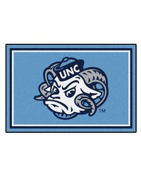 UNC Chapel Hill Rug 5x8 60x92 by