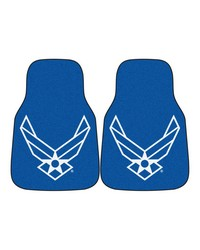 Air Force 2piece Carpeted Car Mats 18x27 by