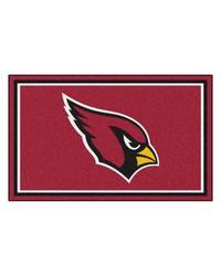 NFL Arizona Cardinals Rug 4x6 46x72 by