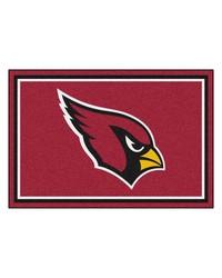 NFL Arizona Cardinals Rug 5x8 60x92 by