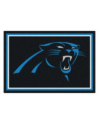 NFL Carolina Panthers Rug 5x8 60x92 by