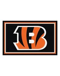 NFL Cincinnati Bengals Rug 4x6 46x72 by