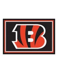 NFL Cincinnati Bengals Rug 5x8 60x92 by