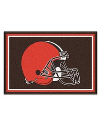 NFL Cleveland Browns Rug 5x8 60x92 by