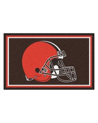NFL Cleveland Browns Rug 4x6 46x72 by