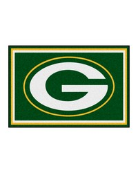 NFL Green Bay Packers Rug 5x8 60x92 by