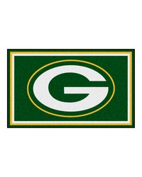 NFL Green Bay Packers Rug 4x6 46x72 by