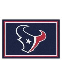 NFL Houston Texans Rug 5x8 60x92 by