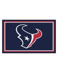 NFL Houston Texans Rug 4x6 46x72 by
