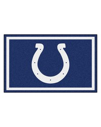 NFL Indianapolis Colts Rug 4x6 46x72 by