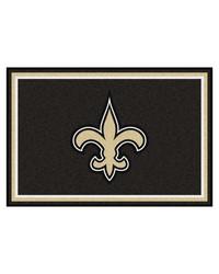 NFL New Orleans Saints Rug 5x8 60x92 by