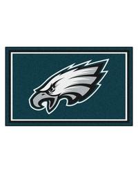 NFL Philadelphia Eagles Rug 4x6 46x72 by