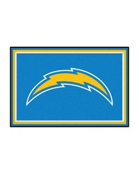 NFL San Diego Chargers Rug 5x8 60x92 by