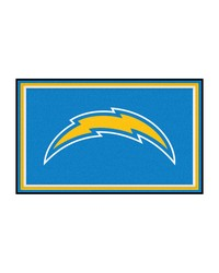 NFL San Diego Chargers Rug 4x6 46x72 by