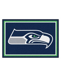 NFL Seattle Seahawks Rug 5x8 60x92 by