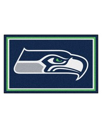 NFL Seattle Seahawks Rug 4x6 46x72 by