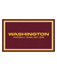 NFL Washington Redskins Rug 4x6 46x72 by
