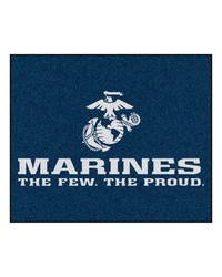 Marines Tailgater Rug 60x72 by