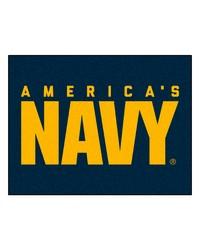 Navy AllStar Mat 34x45 by