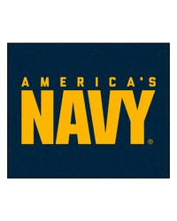 Navy Tailgater Rug 60x72 by