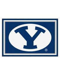 Brigham Young Cougars Area Rug by