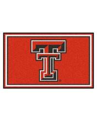 Texas Tech Rug 4x6 46x72 by