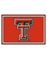 Texas Tech Rug 5x8 60x92 by