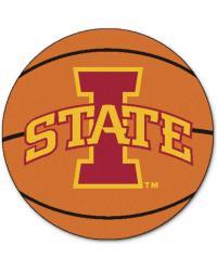 Iowa State Basketball Mat 26 diameter  by