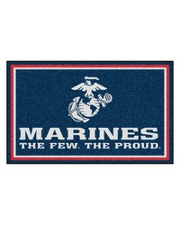 Marines Rug 4x6 46x72 by