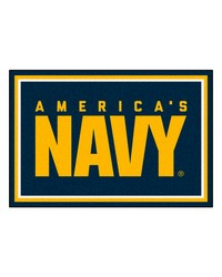 Navy Rug 5x8 60x92 by