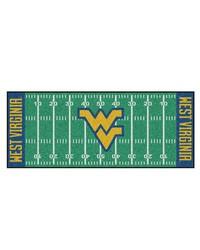 West Virginia Mountaineers Field Runner Rug by