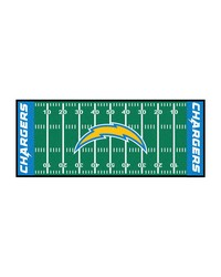 San Diego Chargers Field Runner Rug by